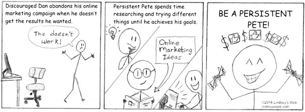 Persistent Pete Lindsey's Web Comic