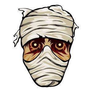 The Entombed Mummy