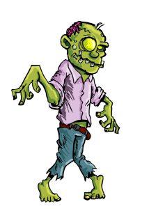 The Shambling Zombie Horde