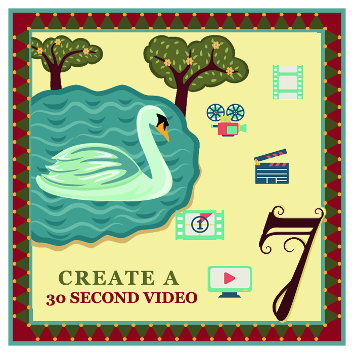 """On the seventh day of Christmas my web strategist said to me - """"Create a 30 second video staring you. People buy from people, not from companies."""""""