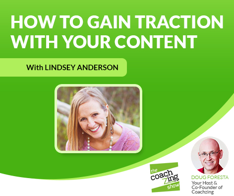 Content Marketing With One-Click Lindsey