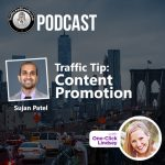 Traffic and Leads Podcast: Content Promotion with Sujan Patel