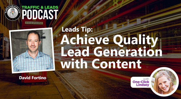 Buy High Quality Leads with David Fortino