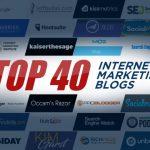 Top 40 Internet Marketing Blogs