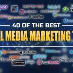 40 Of The Best Social Media Marketing Tools