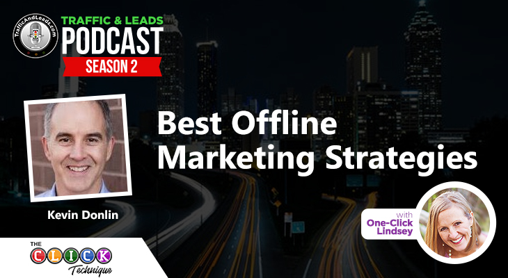 Best Offline Marketing Strategies with Kevin Donlin