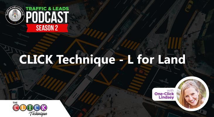 Click Technique - L for Land