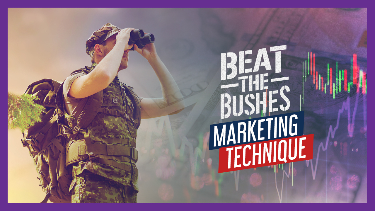 beat the bushes