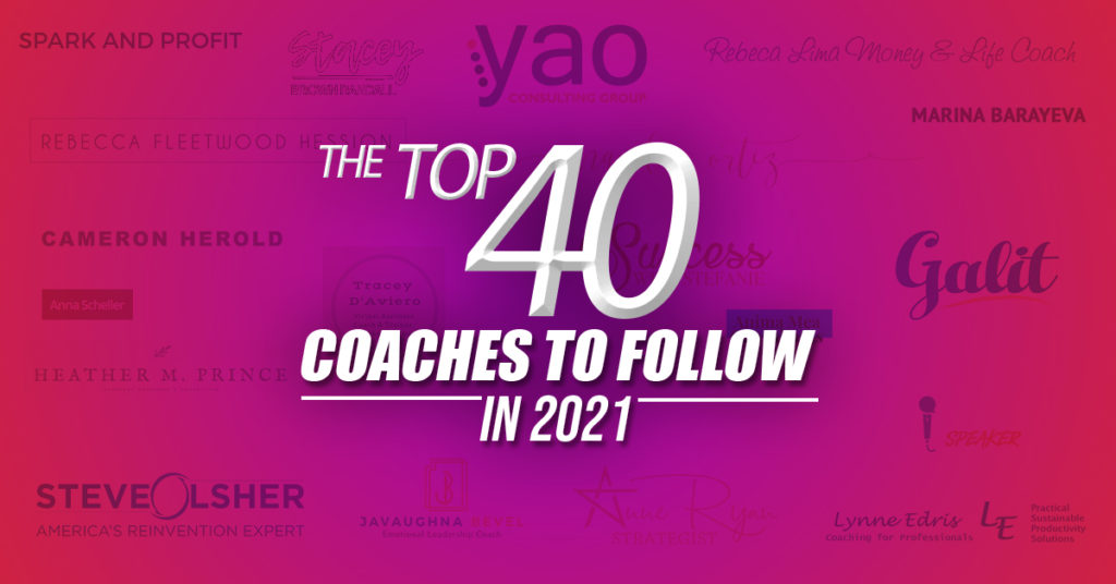 The 40 Top Coaches to Follow in 2021