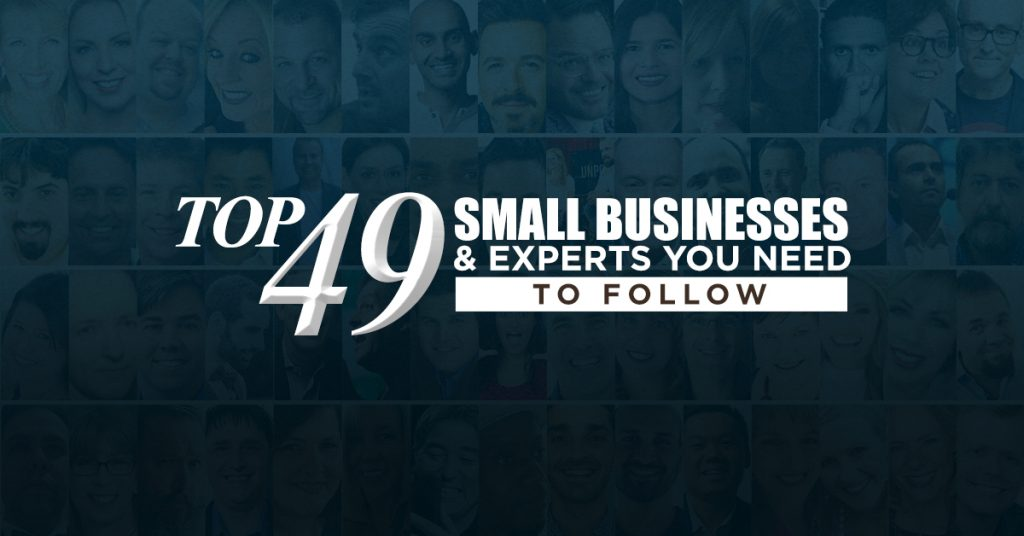 top small businesses experts to follow