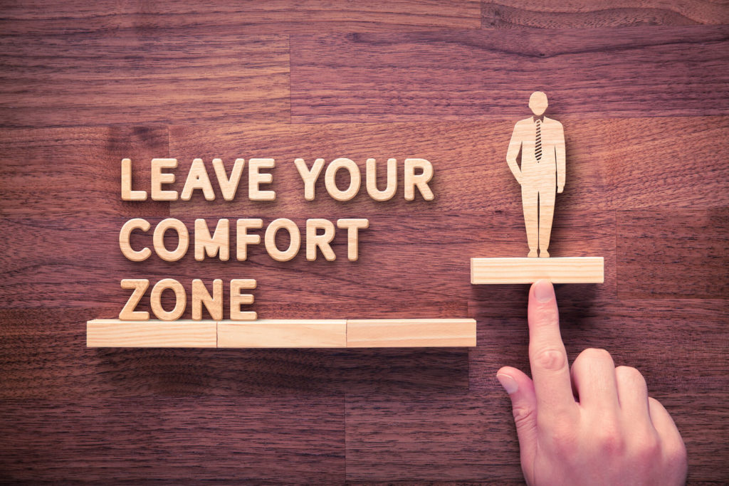 Online Business Coaches Push You Out of Your Comfort Zone