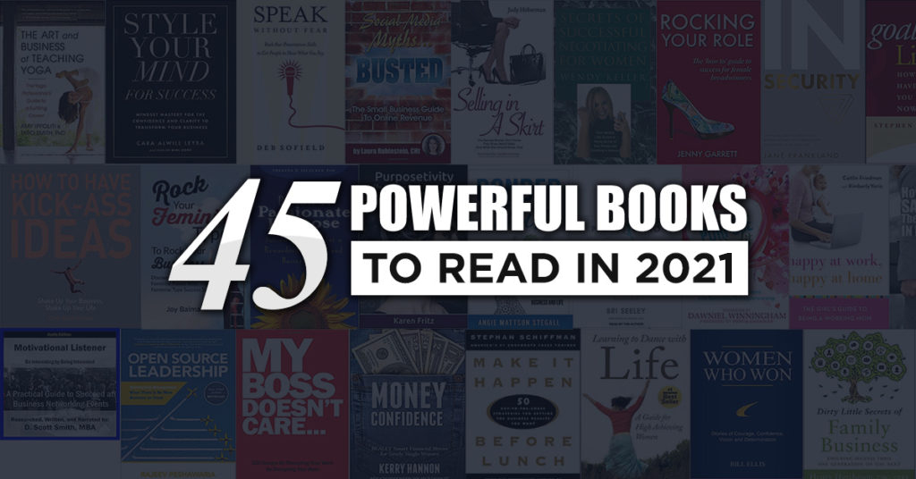 45 Powerful Books to Read in 2021